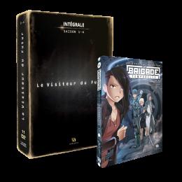 Pack Visiteur du futur : Le manga et le coffret DVD