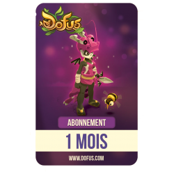 Carte 1 mois d'abonnement à DOFUS
