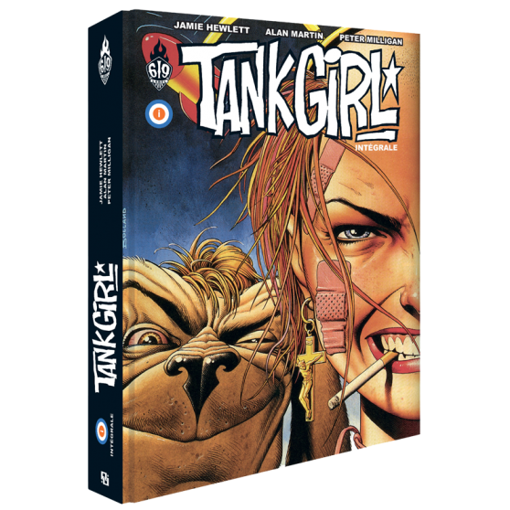 INTEGRALE TANK GIRL BD