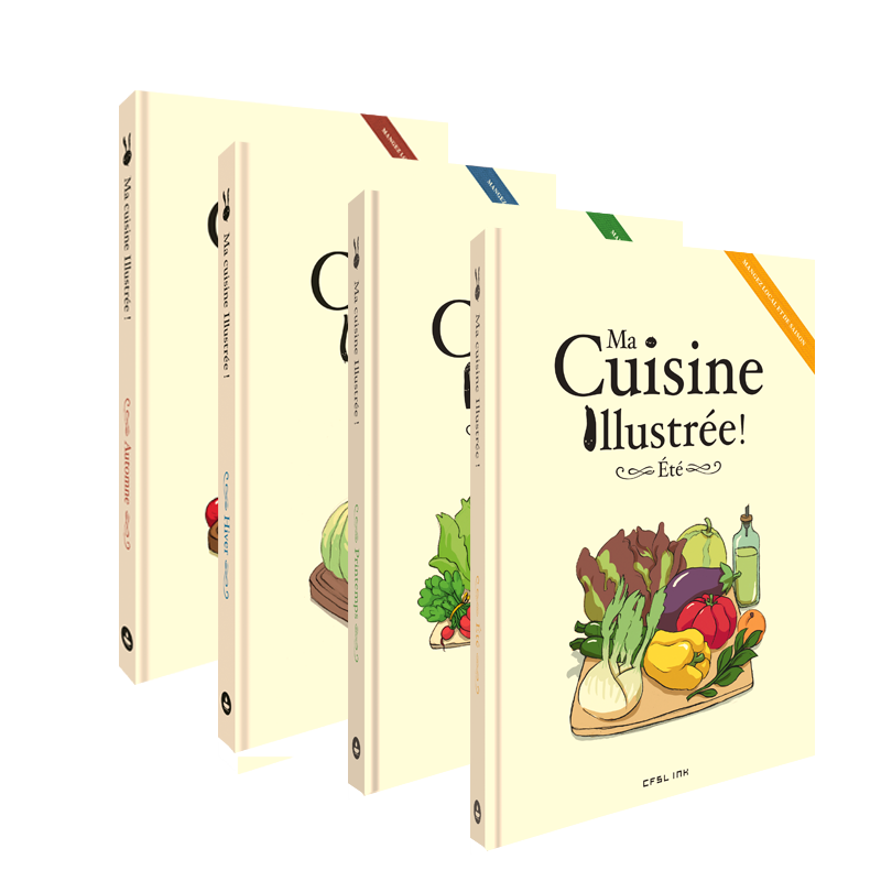 Ma cuisine illustr e int grale ankama shop for Cuisine integrale