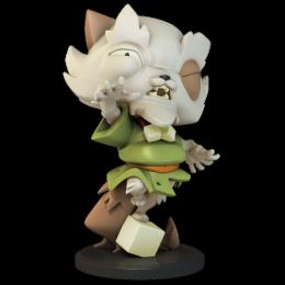 Figurine Krosmaster Papychat Marchand (Version US)