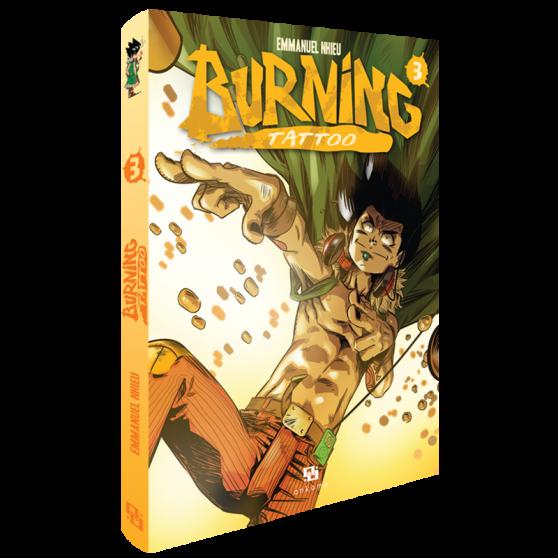 BURNING TATTOO 3 MANGA