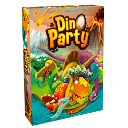 DINO PARTY MU BOARD GAME