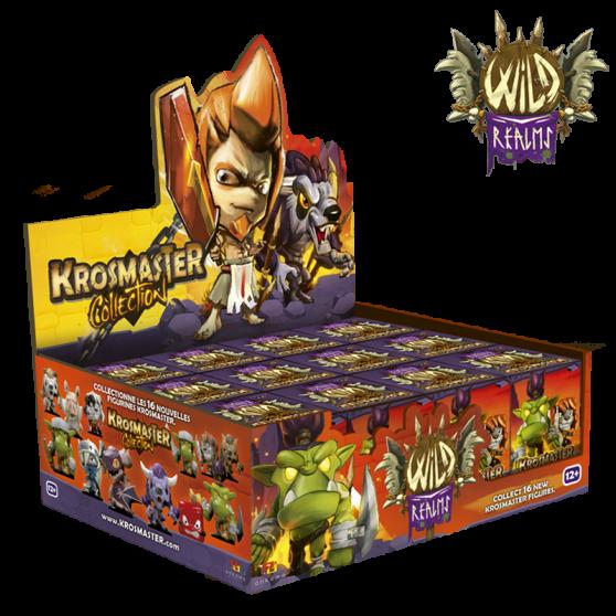 Set de 12 blindbox Krosmaster Arena - « Wild Realms »