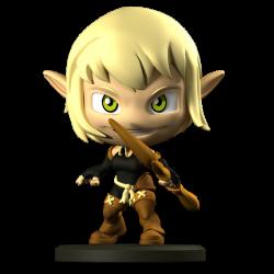 Evangelyne - Figurine Krosmaster (Version US)