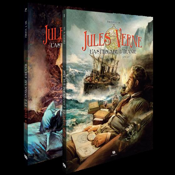 Jules Verne et l'astrolabe d'Uranie - Intégrale 2 tomes