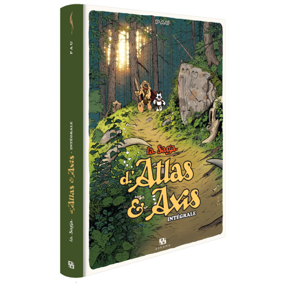 SAGA D'ATLAS & AXIS INTEGRALE BD