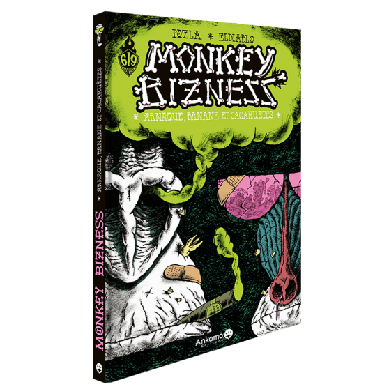 Monkey Bizness Tome 1 : Arnaque, banane et cacahuètes