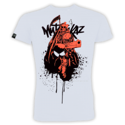 "T-shirt Mutafukaz ""Hasta la muerte"" (vert ou rouge)"