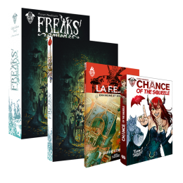 FREAKS' SQUEELE COFFRET 2 COFFRET A MOVE & Z MOVIE tome 7