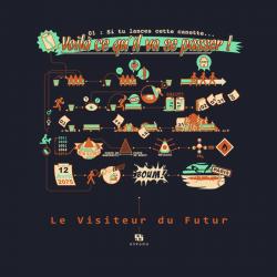 T-shirt Le Visiteur du Futur - Episode 1 Bleu (Homme ou Femme)