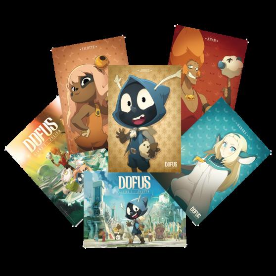 Pack de 6 posters DOFUS le film